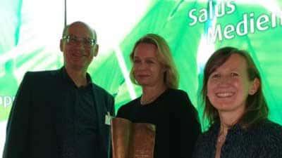 Gewonnen: Salus Medienpreis 2019